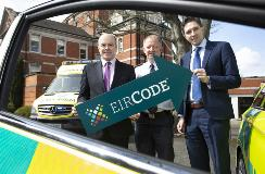 Eircodes to identify property locations
