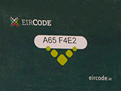 Using-an-Eircode